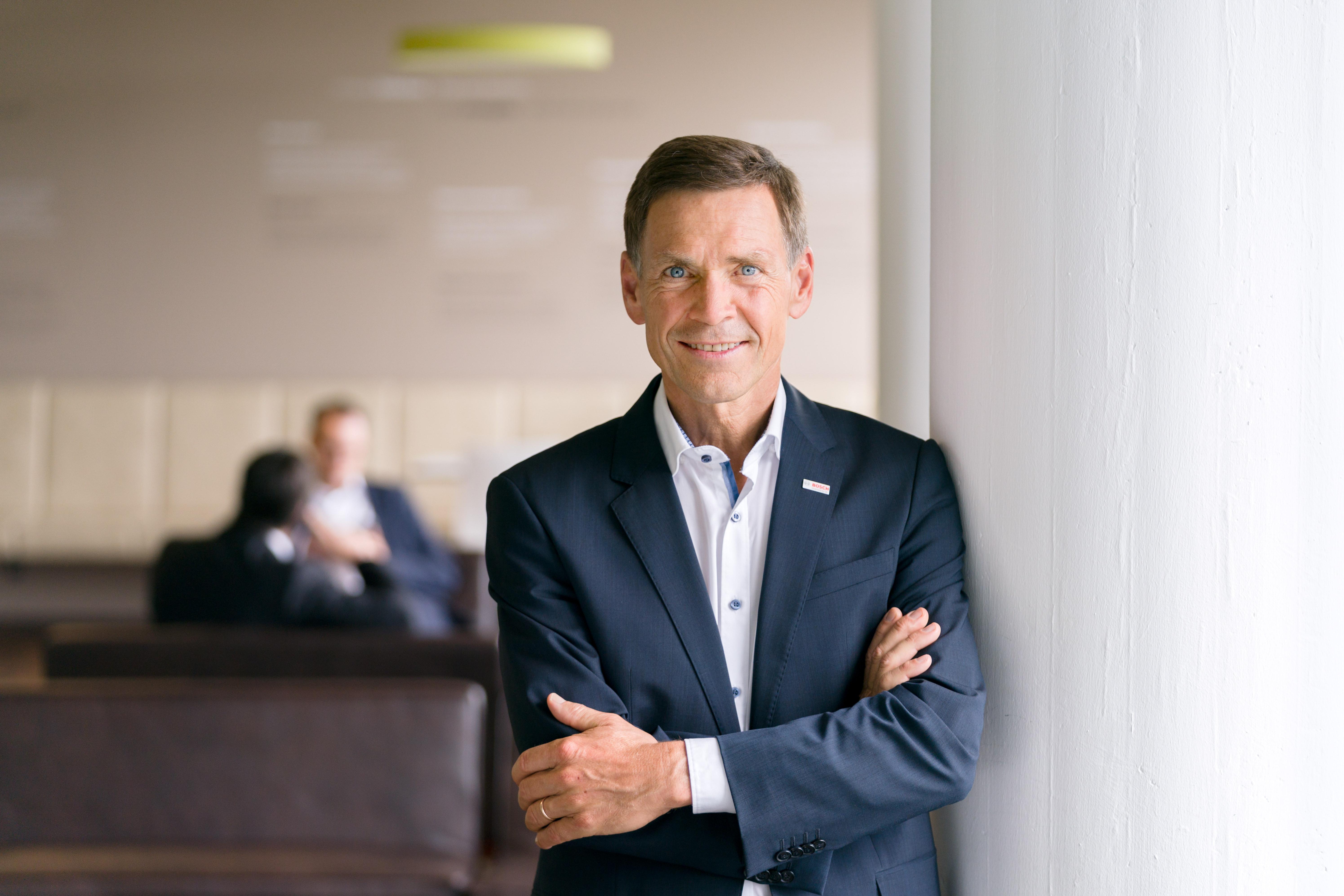 Christoph Kübel, member of the board of management and director of industrial relations at Robert Bosch GmbH;Christoph Kübel