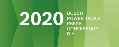 Bosch Power Tools Press Conference 2020 - DIY