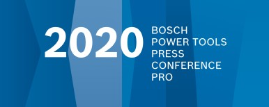 Bosch Power Tools Press Conference 2020 - PRO