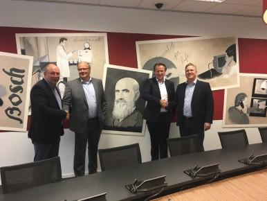 Samenwerking Bosch en SmartSD op het gebied van security producten en systemen