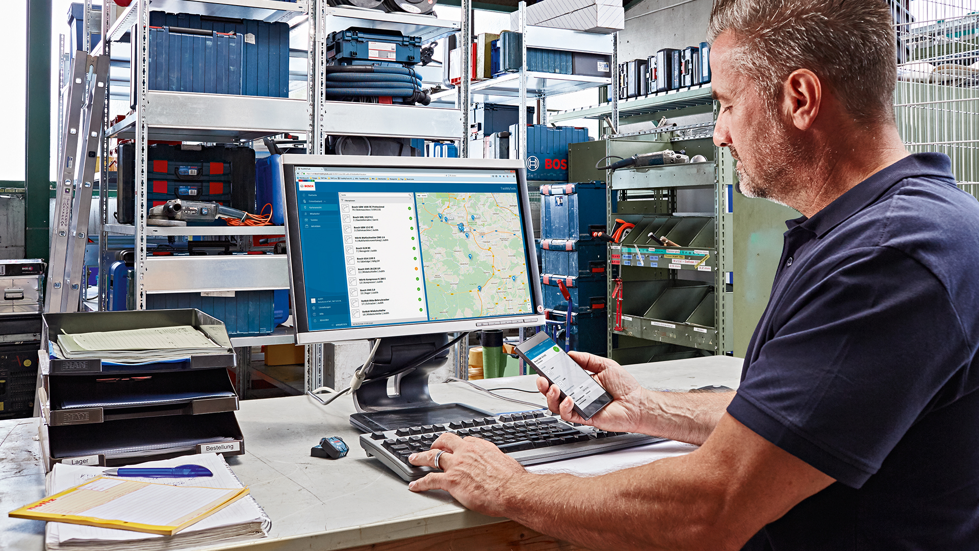 Bosch Entfernungsmesser Software : Höhere produktivität im arbeitsalltag bosch baut connectivity