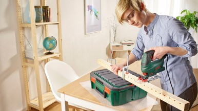 Fast organization for every project: The SystemBox from Bosch for DIY enthusiasts