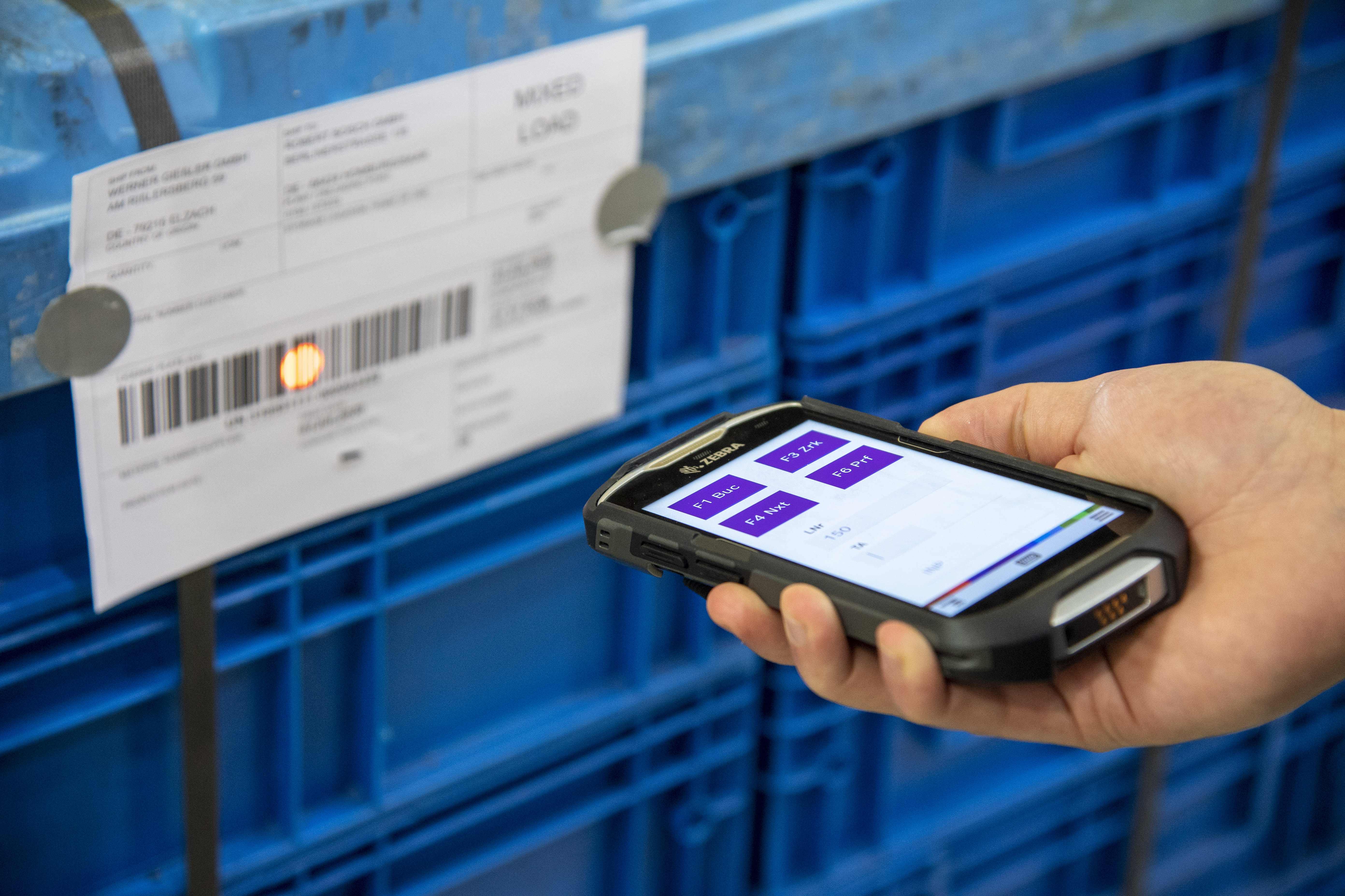 Digitized supply chains