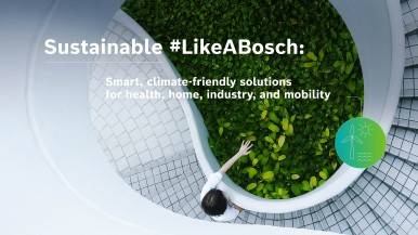 #BoschCES 2021: Sustainable #LikeABosch