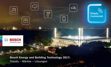 Bosch–Presseveranstaltung am 5.Oktober 2017 zu Energie- und Gebäudetechnik