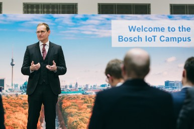Opening of Bosch IoT Campus