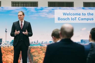 Eröffnung Bosch IoT Campus