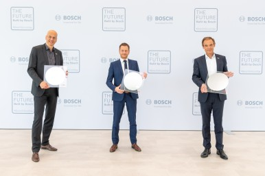 Official opening of the 300-millimeter wafer fab in Dresden