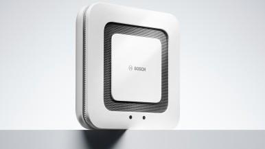 Doppelt abgesichert – Bosch Smart Home Twinguard Rauchwarnmelder mit Luftgütesensor