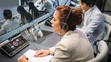 DICENTIS iDesk ergänzt DICENTIS IP-Konferenzsystem von Bosch