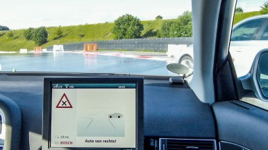 Local clouds for greater road safety