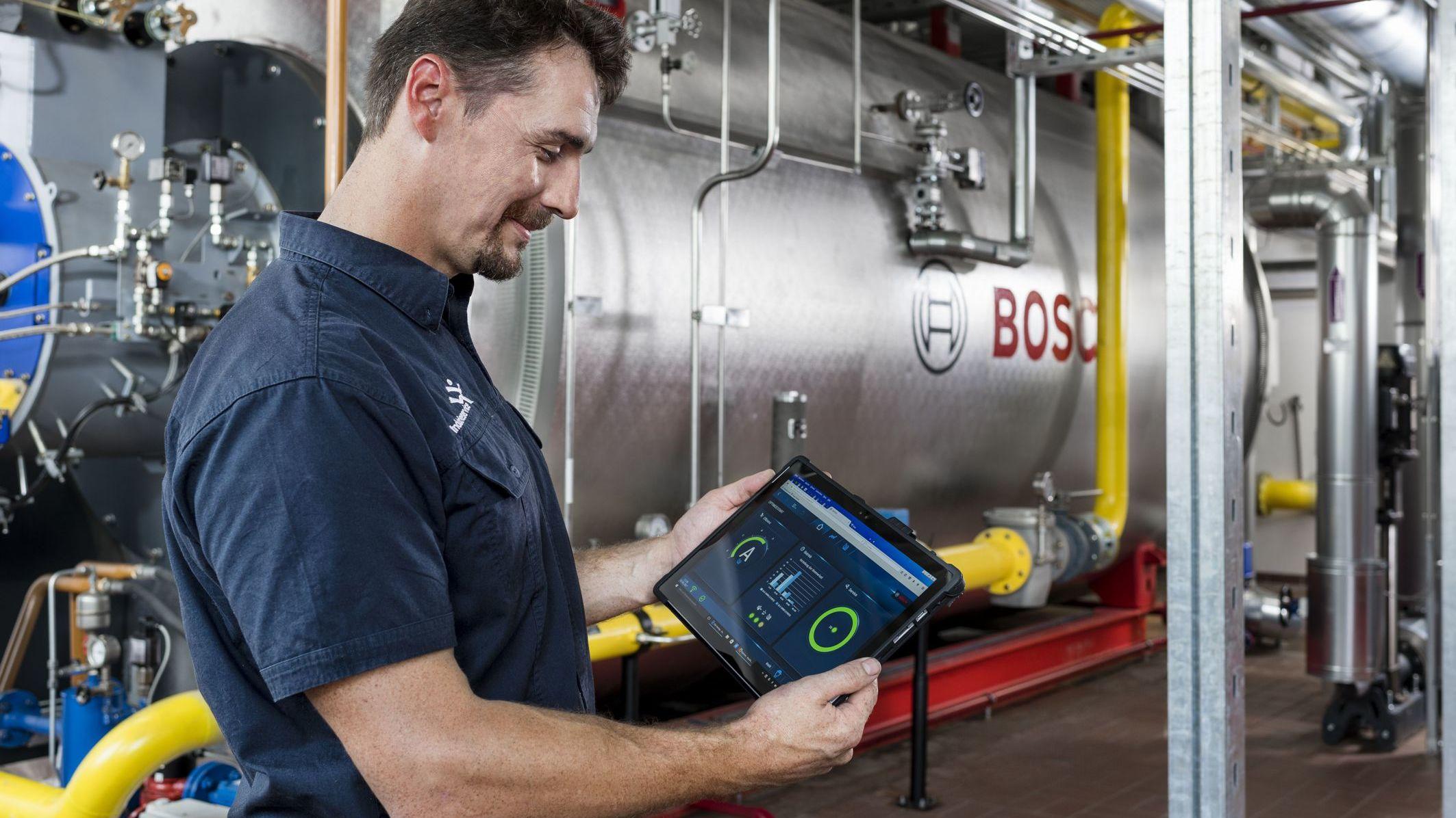Erster digitaler Effizienzassistent für Dampfkessel bei ...