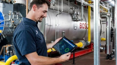 First digital efficiency assistant for steam boilers at the Bechtel private dairy