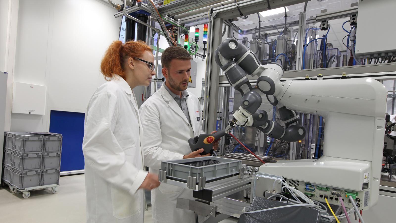 Ausbildung 4.0 – Zusammenarbeit mit Robotern