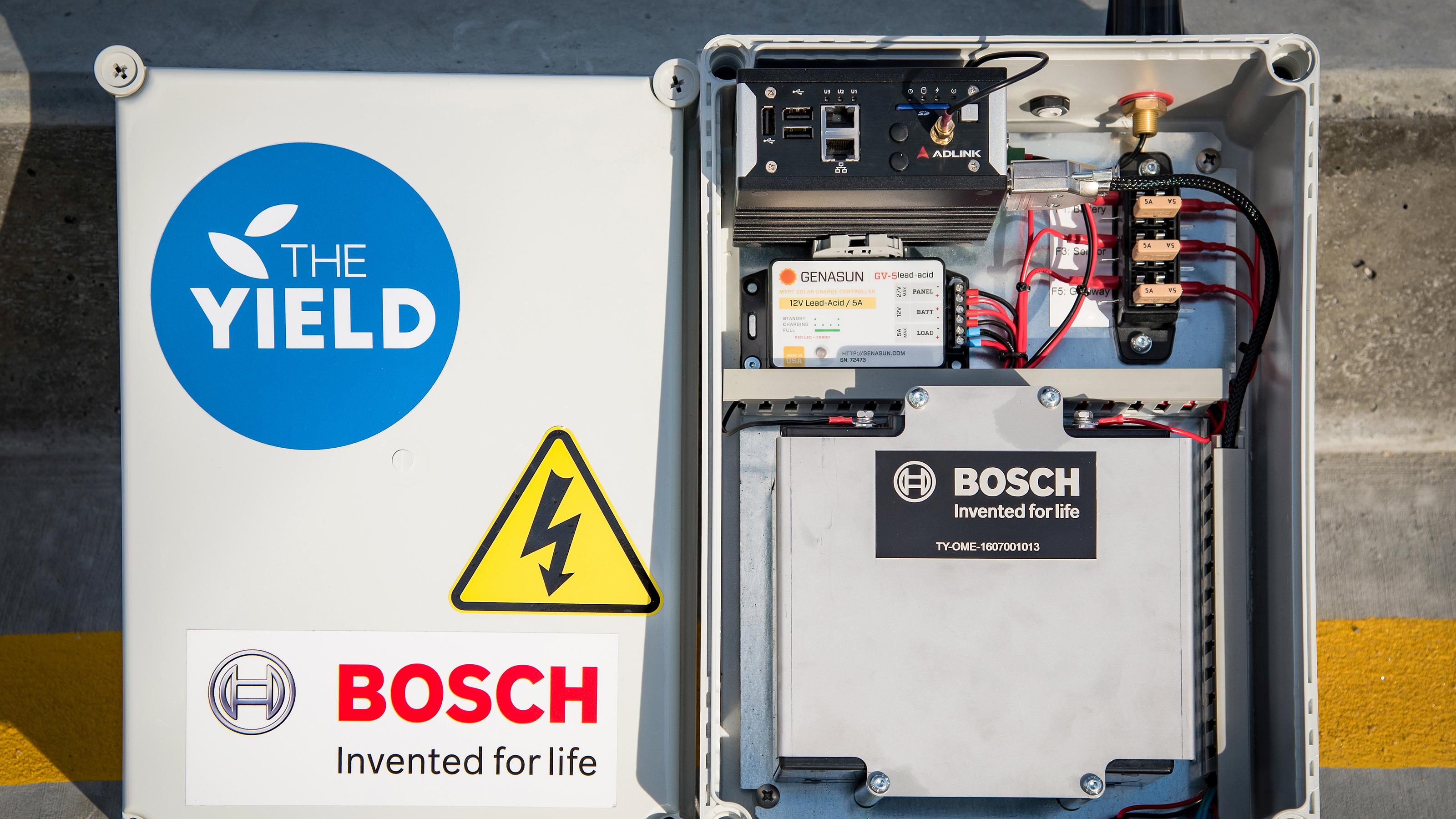 Liefert wertvolle Informationen: Messstation der Bosch ProSyst-IoT-Plattform