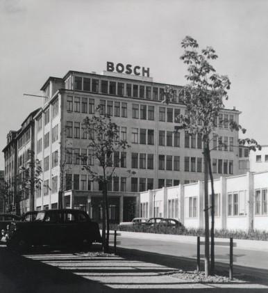 Bosch-Verwaltungsgebäude in Stuttgart, Breitscheidstraße, 1952