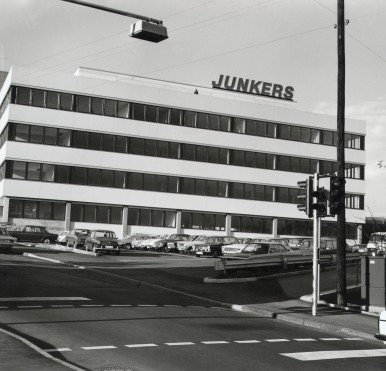 Verwaltungsneubau von Junkers in Wernau,1972