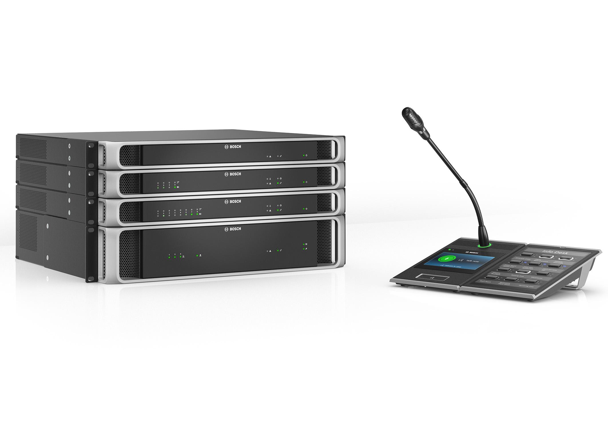 PRAESENSA sets new industry benchmark  New Bosch Public Address and Voice Alarm System goes IP