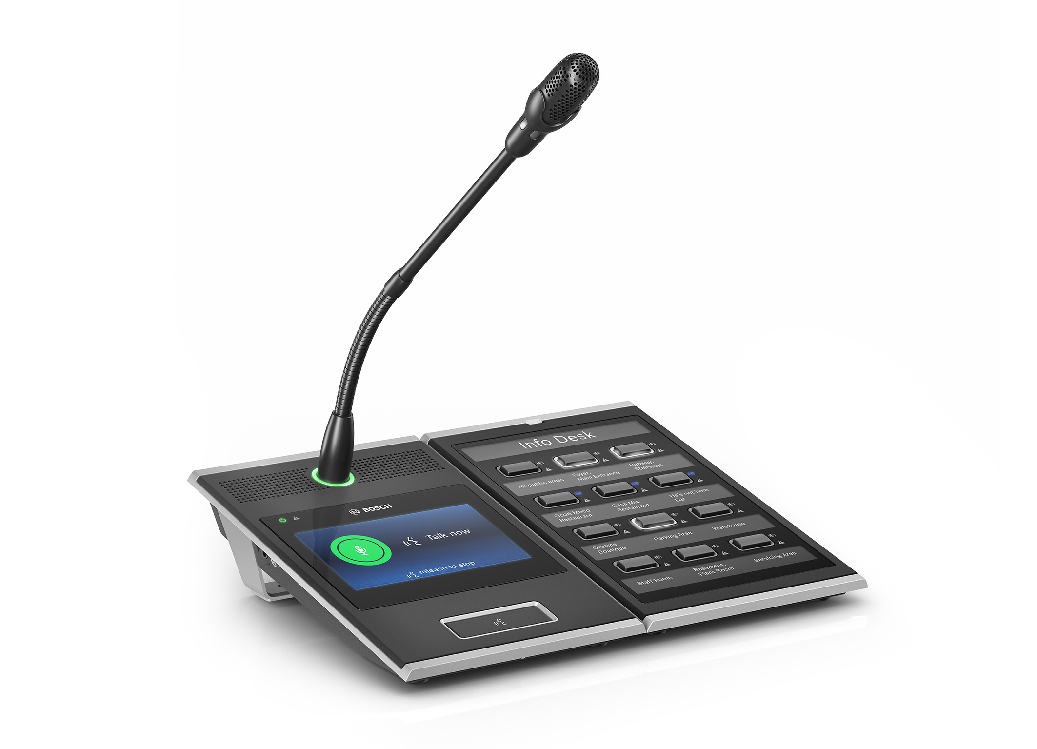 PRAESENSA - the new Bosch Public Address and Voice Alarm System goes IP