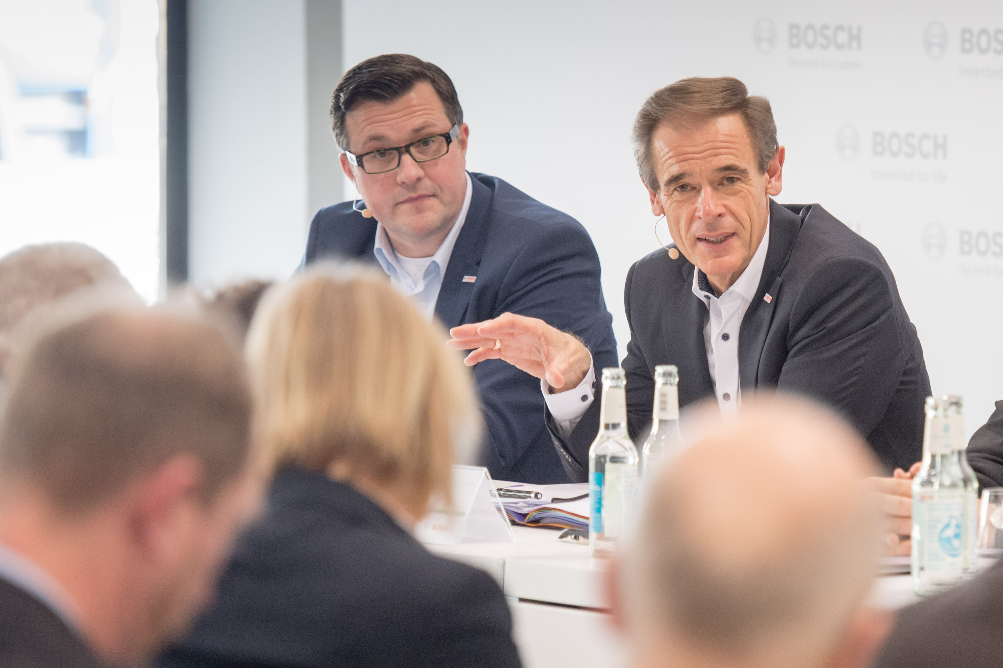Press Conference at Bosch ConnectedWorld 2018