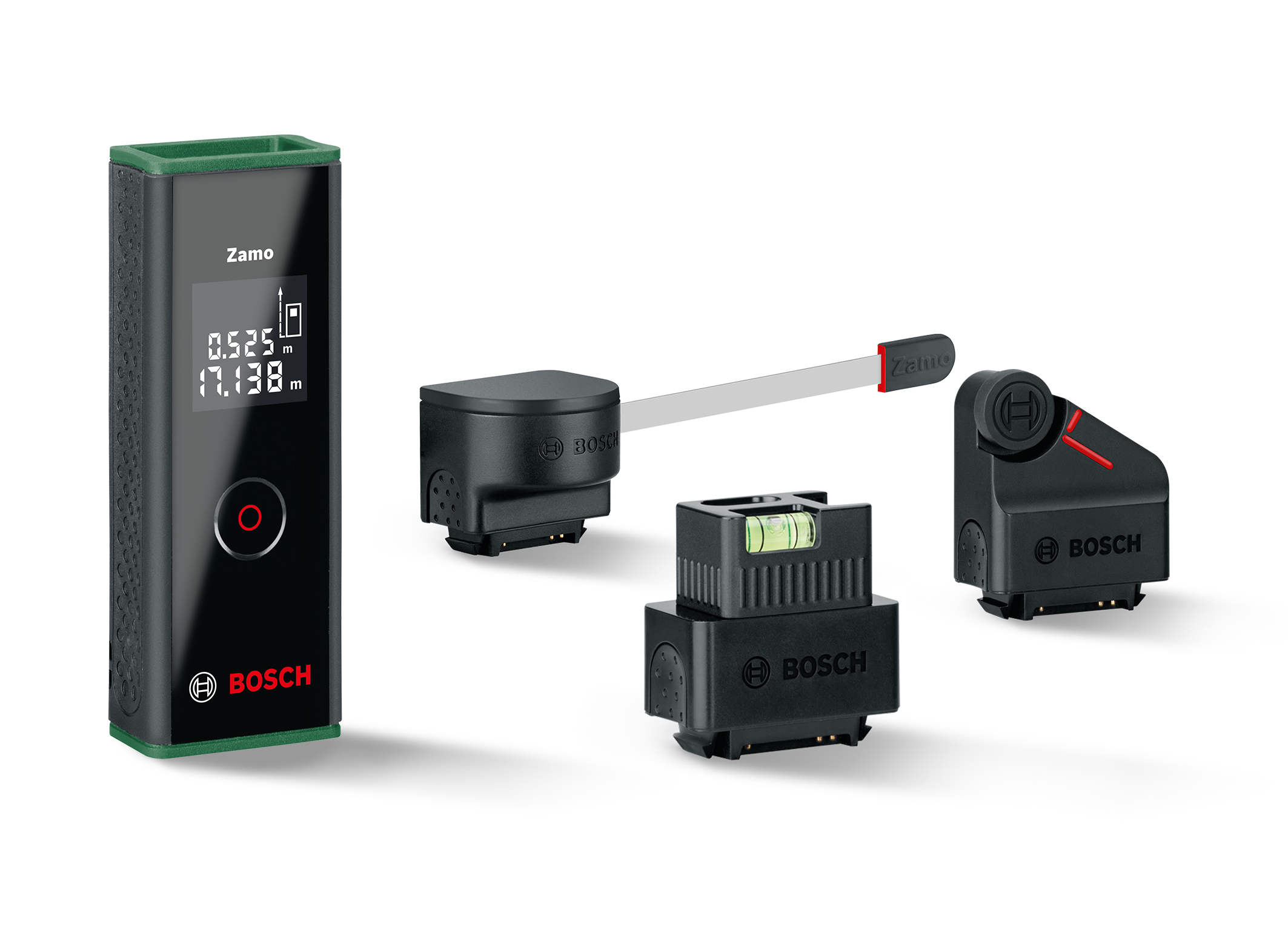 World's first laser measure with adapters: the new Zamo generation from Bosch