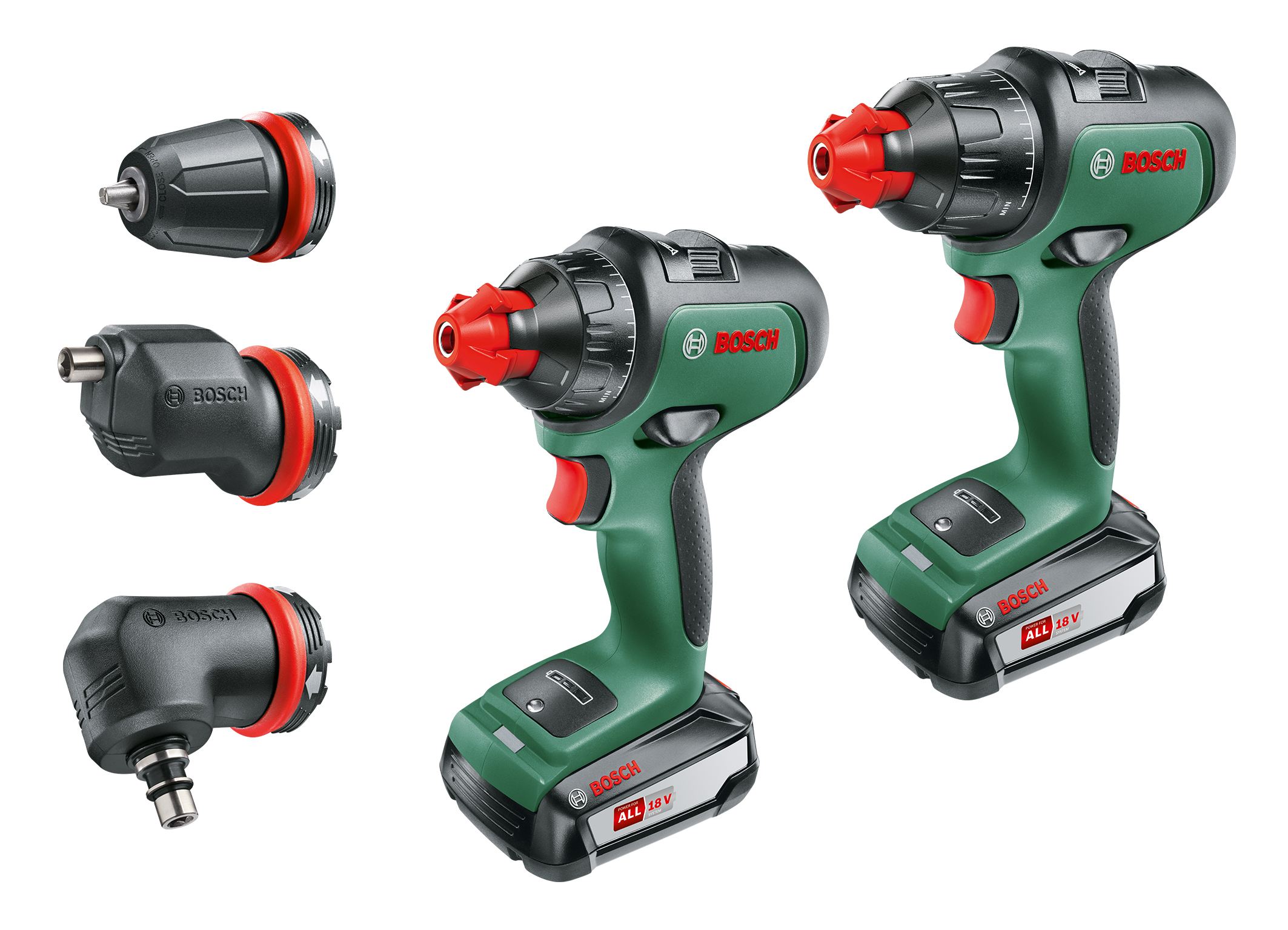 Cordless screwdrivers with intuitive operating concept: AdvancedDrill 18 and AdvancedImpact 18 from Bosch