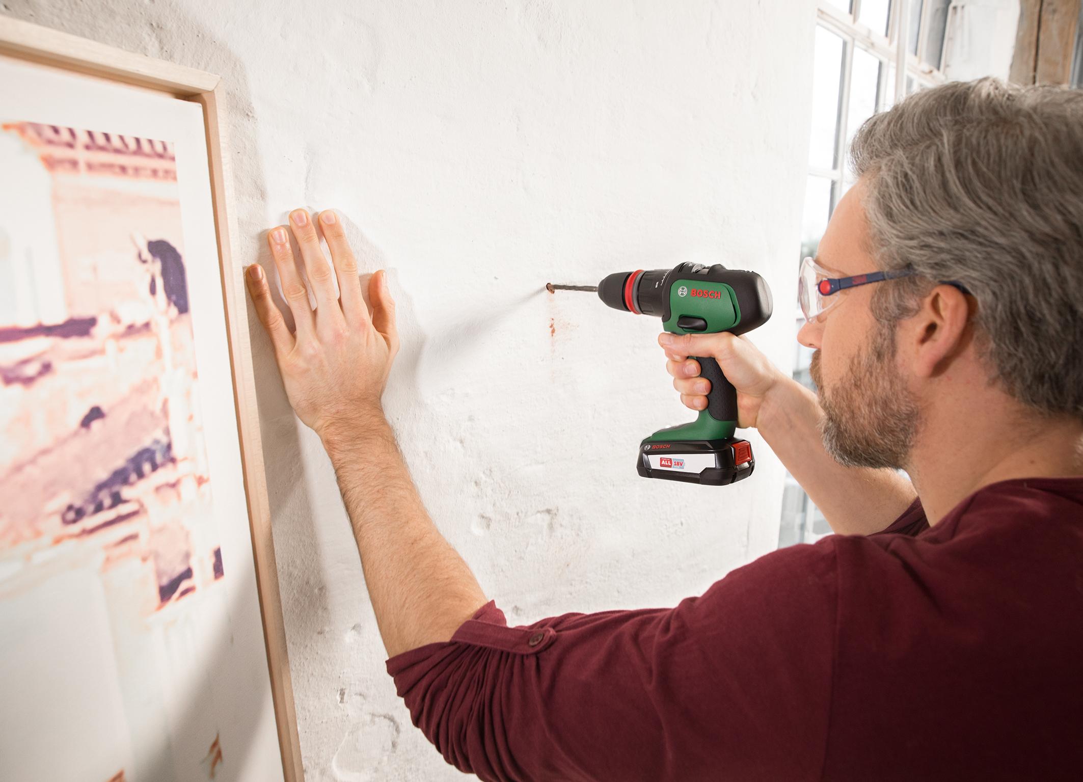 Maximale Flexibilität durch Wechselaufsätze: AdvancedImpact 18 von Bosch