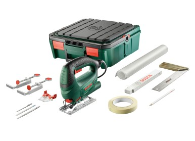 Werkzeuge und Zubehör immer aufgeräumt und griffbereit: die SystemBox von Bosch für Heimwerker