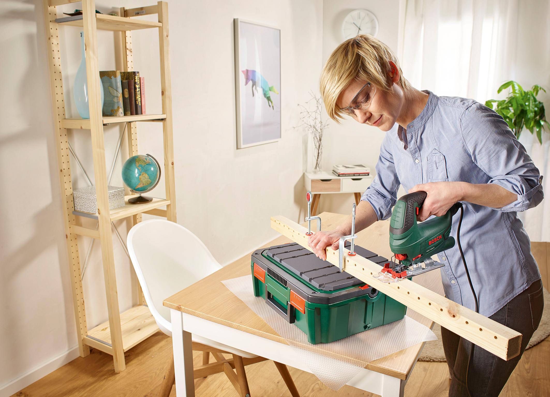 """Sägen leicht gemacht: die SystemBox """"Sägen"""" von Bosch für Einsteiger"""