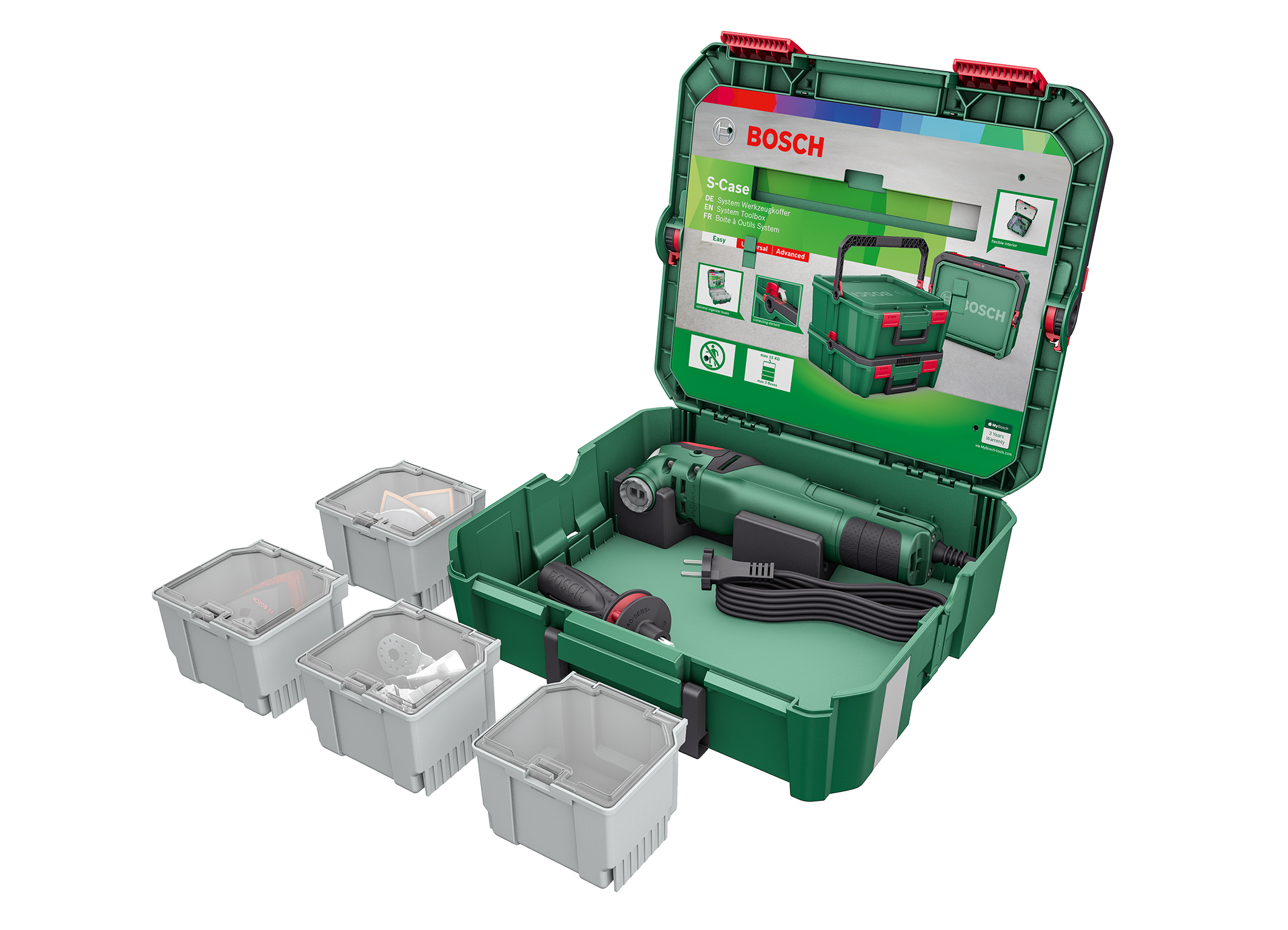 "The right solution for every project: the SystemBox ""Multifunction"" from Bosch for DIY enthusiasts"