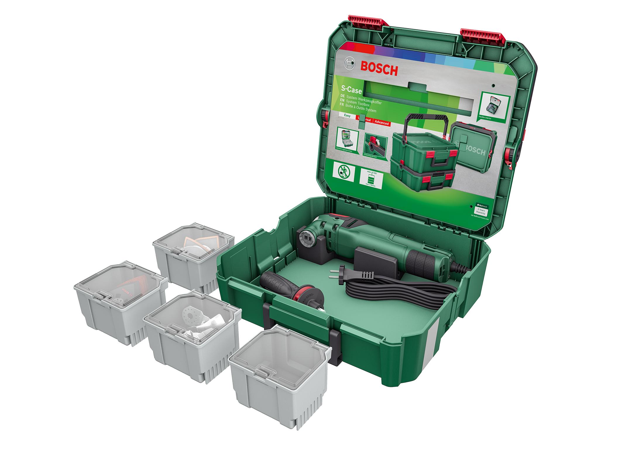 """Die passende Lösung für jedes Projekt: SystemBox """"Multifunktion"""" von Bosch für Heimwerker"""