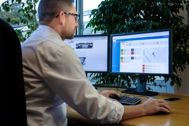 "Connected for the future: ""TrackMyTools"" from Bosch makes day-to-day work more efficient for painting company Kauderer"