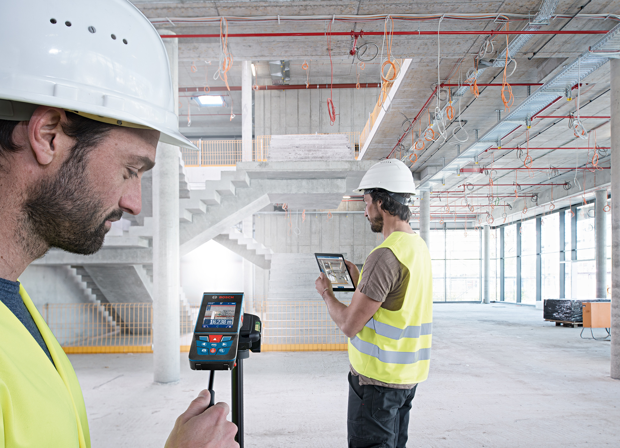 Increased efficiency thanks to connectivity: the GLM 120 C Professional from Bosch