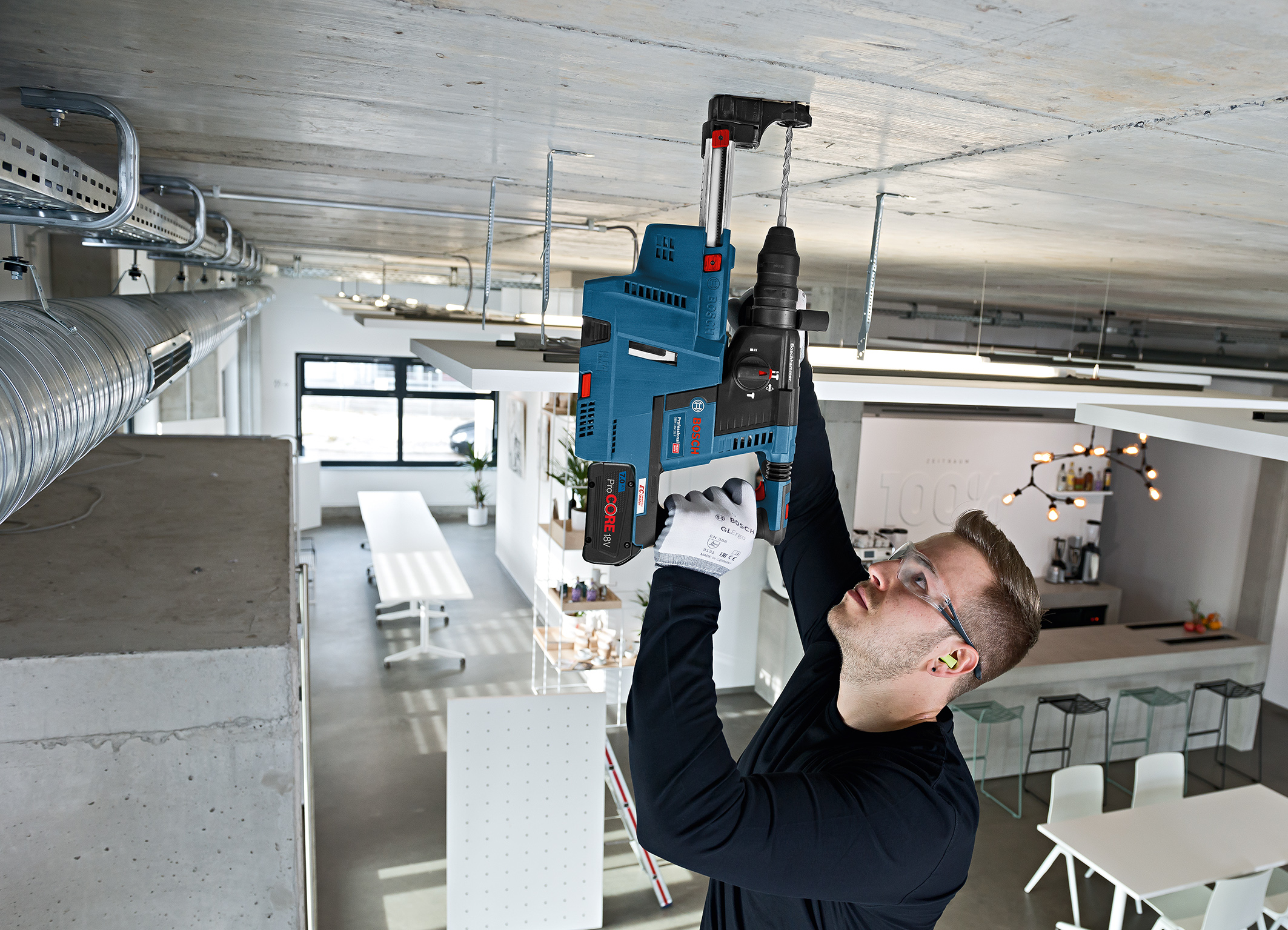 Productive working with the GBH 18V-26 (F) Professional:  occupational health and safety from Bosch for pros