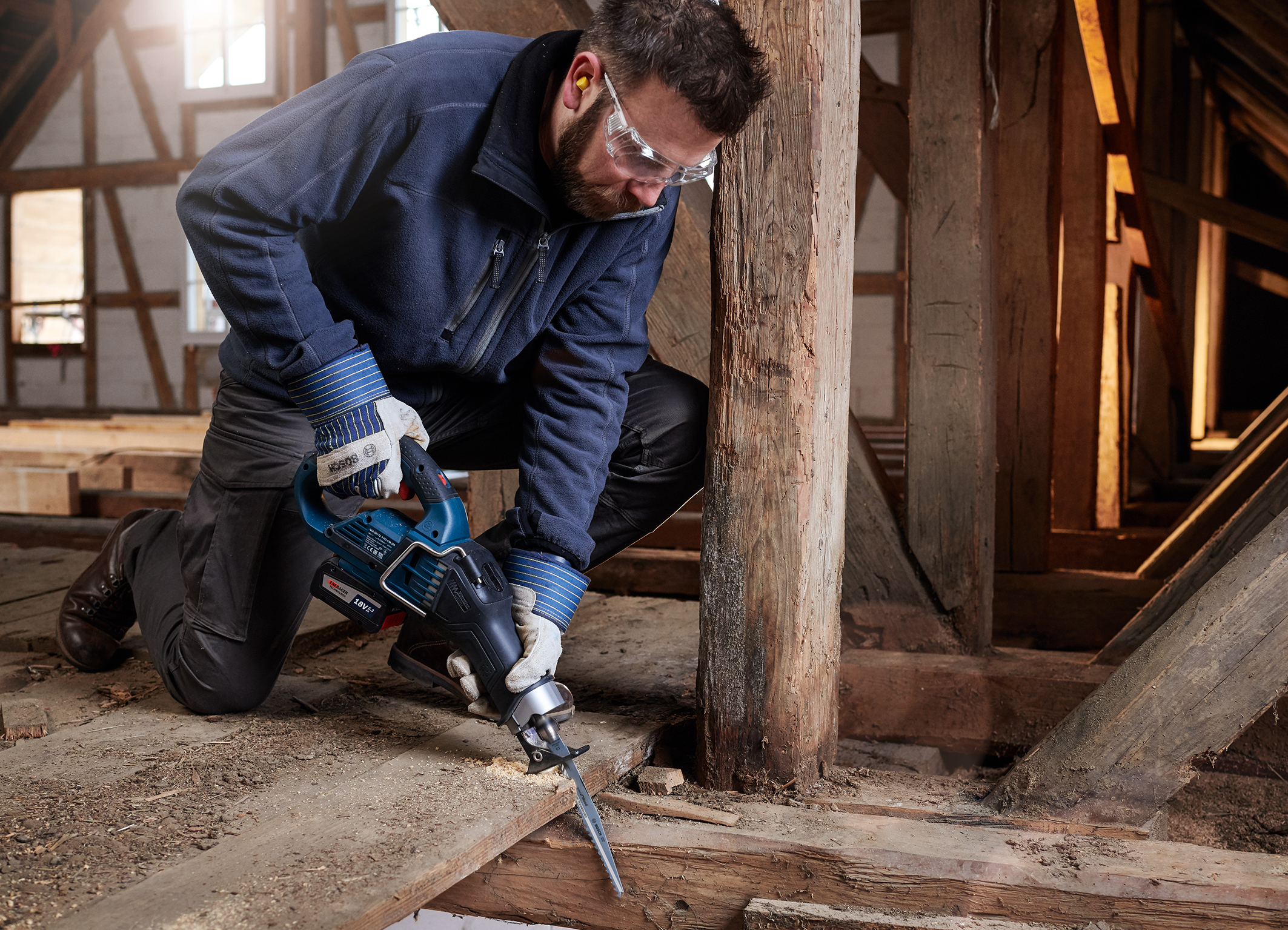"""""""Speed for Wood"""" – the fastest reciprocating saw blade for wood:  Bosch expands its range with carbide technology"""