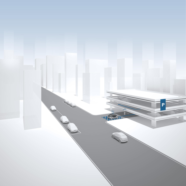 AVP-Projekt von Bosch und e.GO