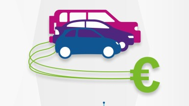 Infographic market leadership electromobility