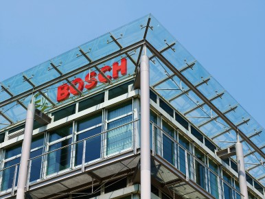Headquarter of Bosch Building Technologies in Grasbrunn near Munich