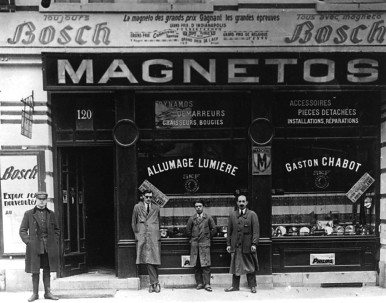 Bosch-Vertretung Allumage-Lumière in Brüssel/Belgien, 1936
