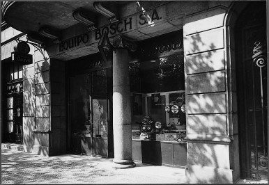 Bosch sales office Equipo Bosch S.A. in Barcelona/Spain, 1933