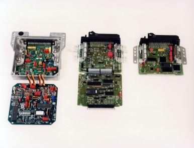 Bosch-Steuergeräte der Motronic 1979 - 1986 - 1987
