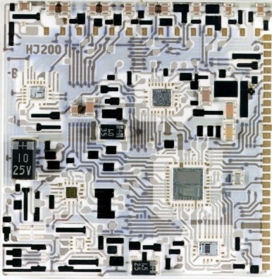 Higly integrated circuits used injection systems equipped with hybrid technology (semiconductor), 1986