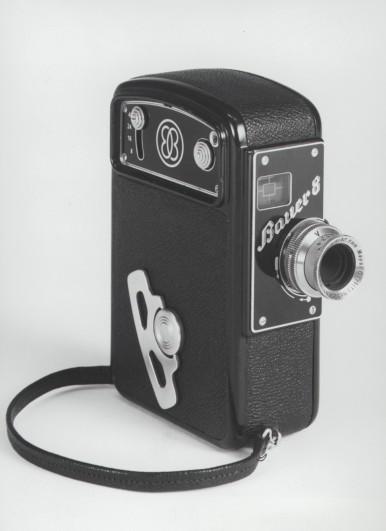"""""""Bauer 8"""" Filmkamera  von der Eugen Bauer GmbH, 1939"""
