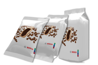 Bosch's new solution for coffee produces up to 300 consistently airtight bags per minute