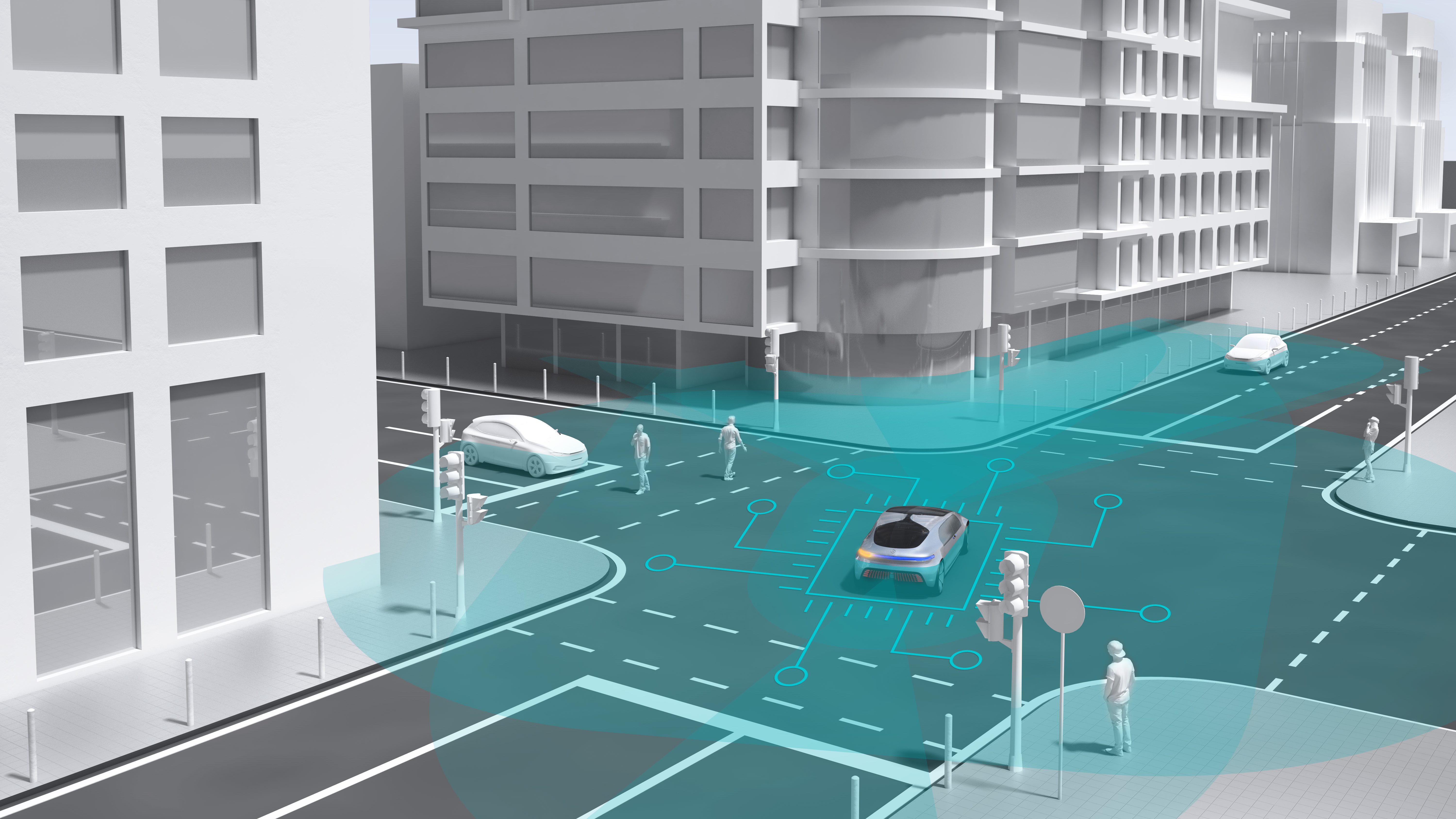 Automated driving in cities: Bosch and Daimler select Nvidia