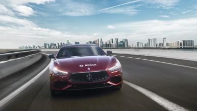 Der neue Autobahnassistent von Bosch an Bord der Maserati- Modellreihe 2018