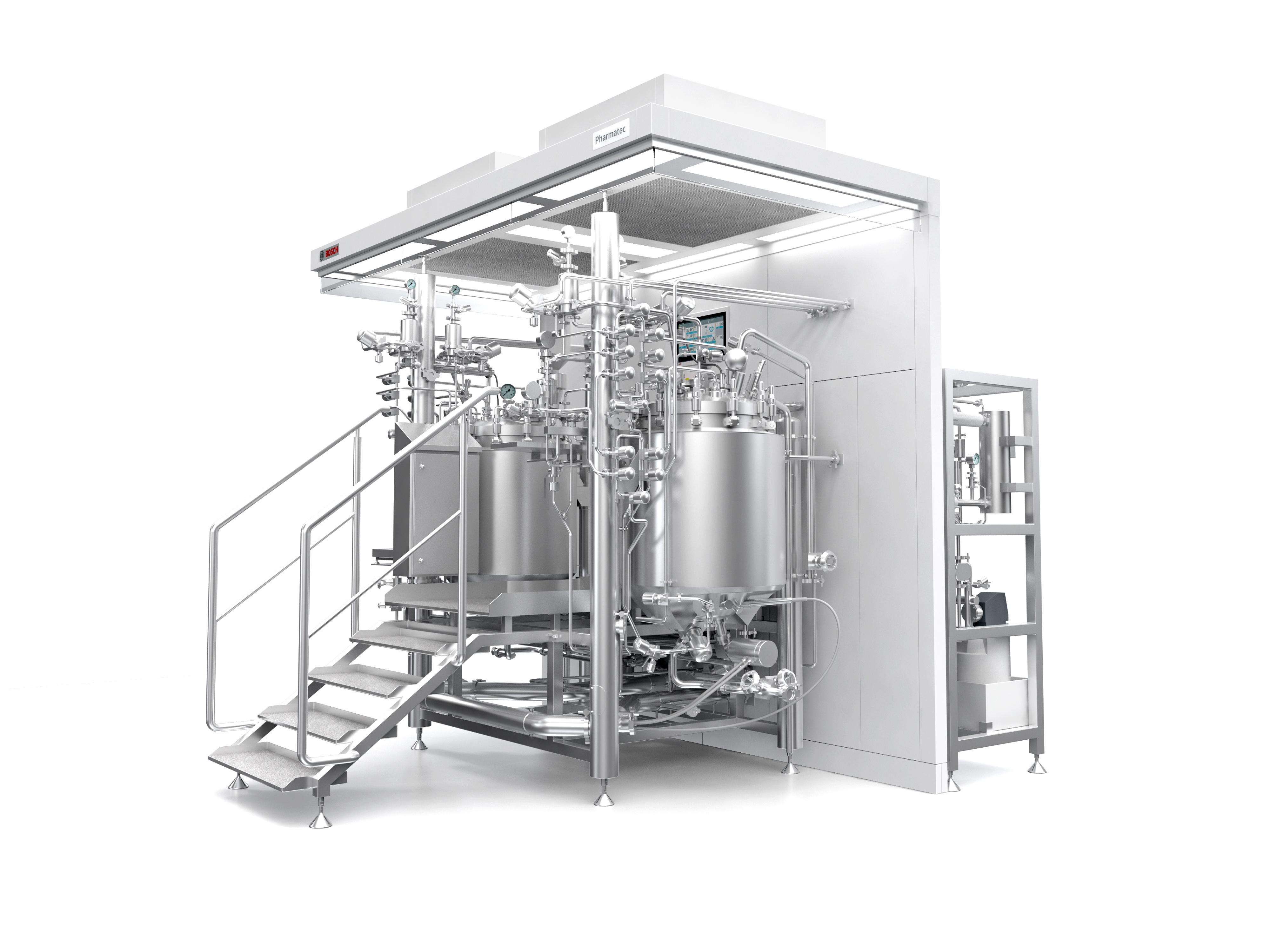 Prozessanlage SVP250 zur Herstellung von Injektionslösungen