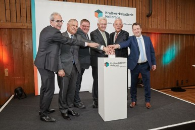 Symbolic initiation of the energy storage in Heilbronn
