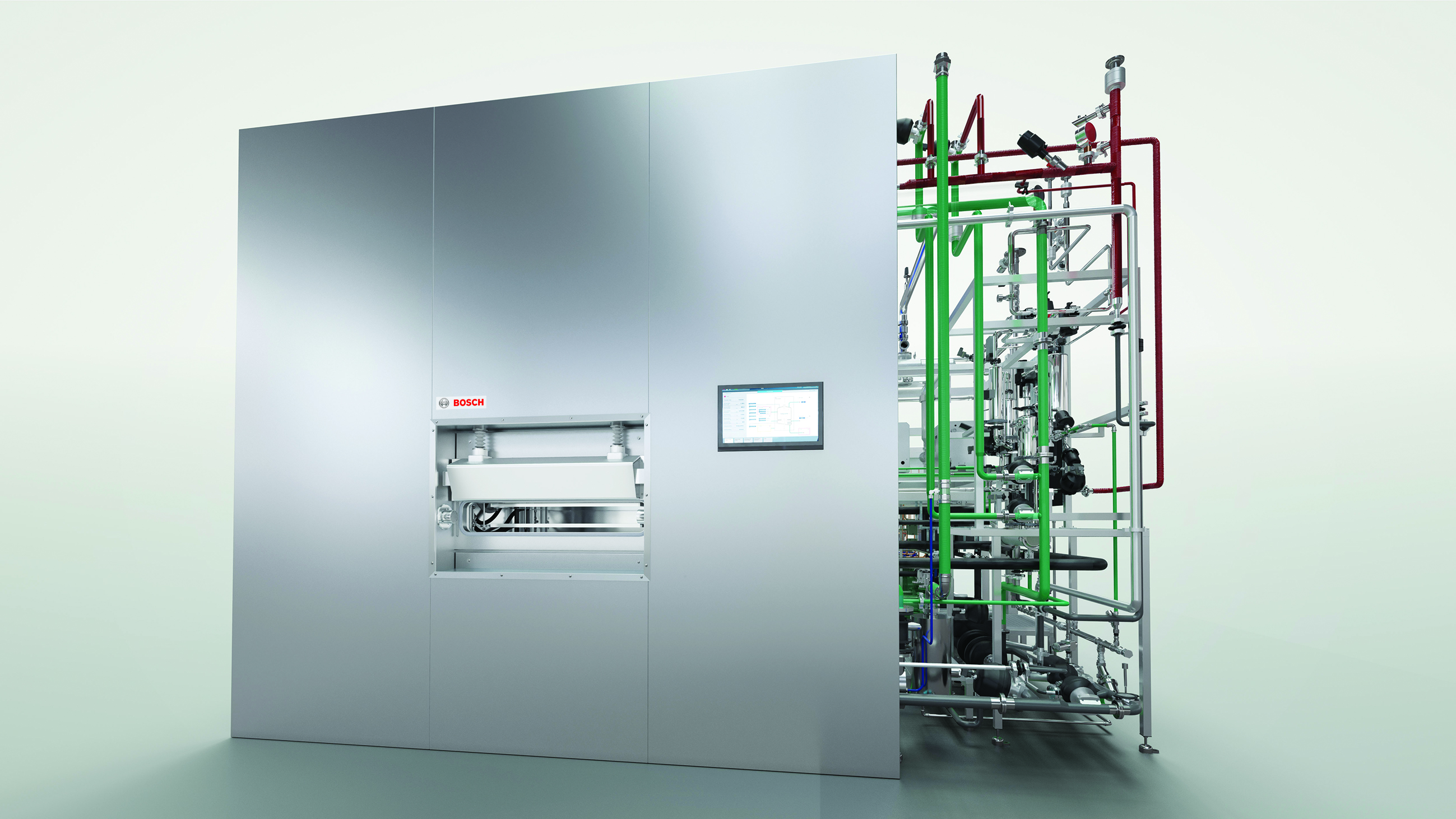 Premiere at Achema: new freeze dryer from Bosch - Bosch