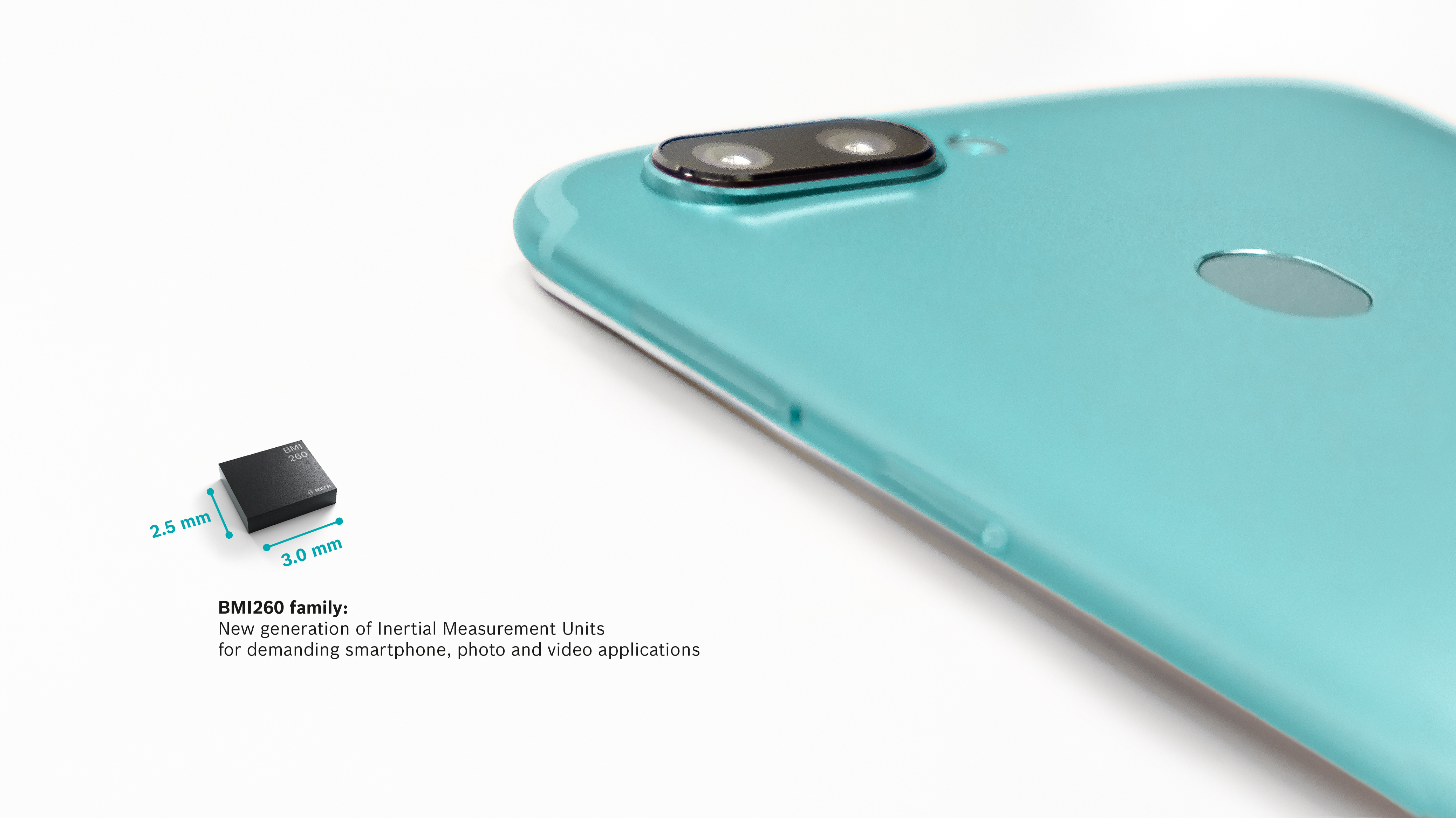 BMI260 family: new generation of IMUs optimized for smartphone applications